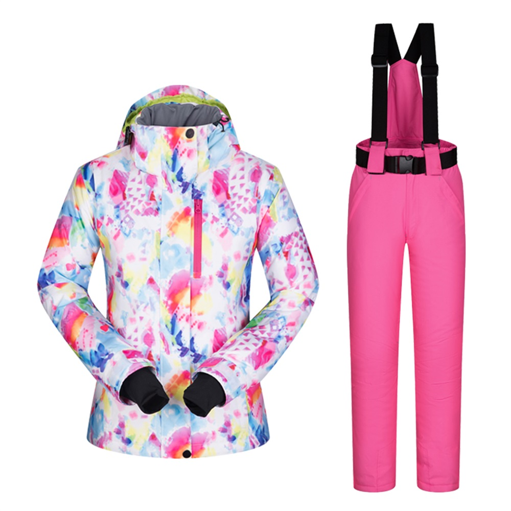 Keep Warm In Cold Weather Woman Snowboard Coat Snowboard Jacket Snow Suit  Women Snowboard Gear Jacket Hooded Withstand Minus -30 Degrees –  Snowboarding ... 9a6d86bb9